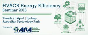 HVACR Energy Efficiency Seminar 2016